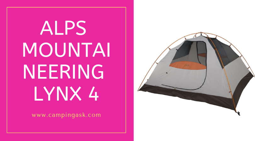 ALPS Mountaineering Lynx 4 Person Tent Review Online