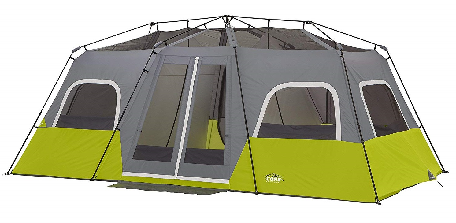 Core Two Room 12 Person Instant Cabin Tent