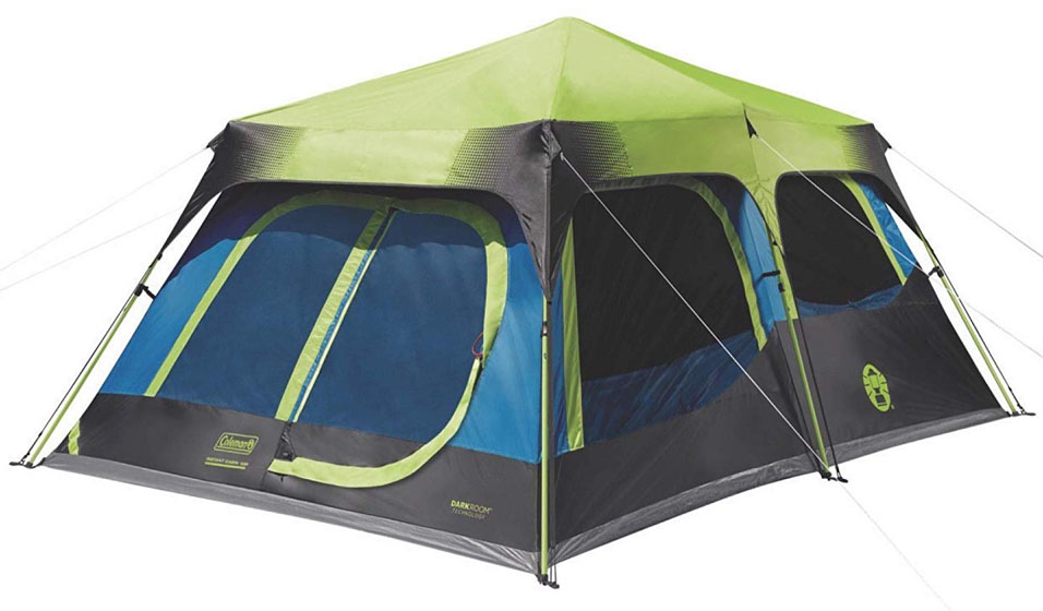 Coleman Cabin Tent with Instant Setup
