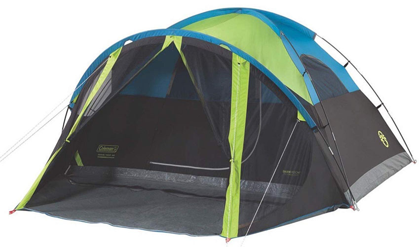 Carlsbad Tent with Screen Room by Coleman 4 Person Camping Tent