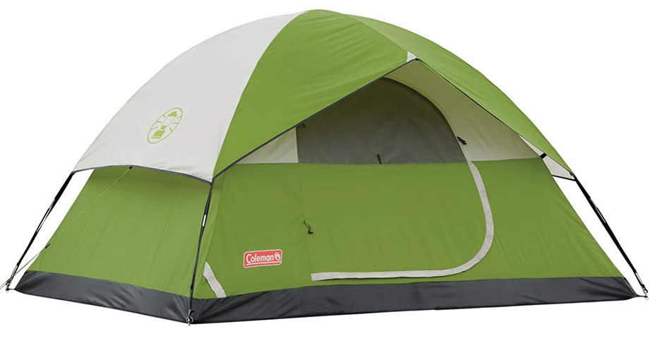 Coleman Dome 4 Person Camping Tent