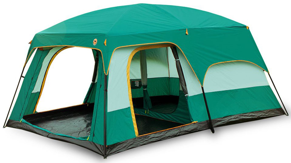 Newdora 12 People Straight Wall Cabin Tent
