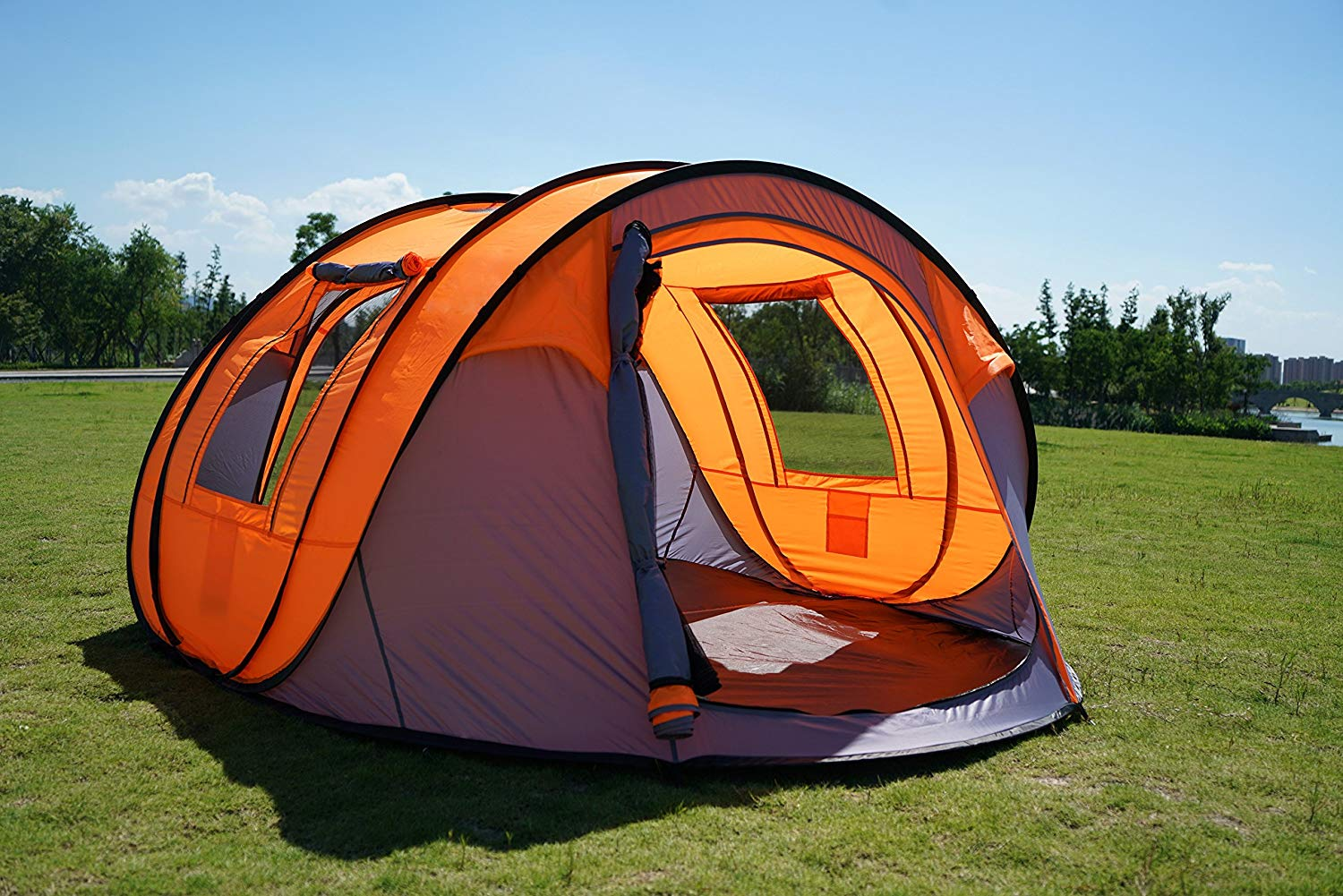 Oileus Pop up Tents Camping 4 to 6 Person Tent