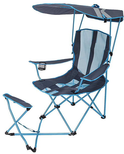 SwimWays Kelsyus Original Canopy Chair with Ottoman