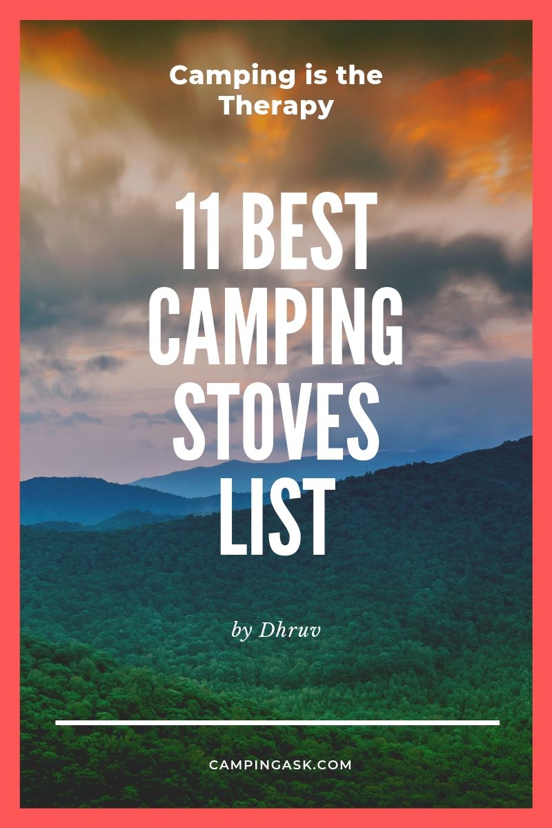 11 Best Camping Stoves Review 2019 {Ultimate Buying Guide}