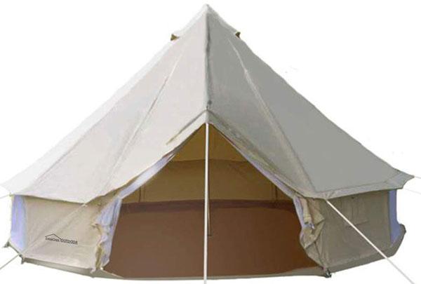 Danchel Outdoor Four Season Cotton Bell Teepee Tent
