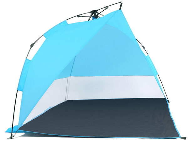 Odoland 8 Feet Easy Up Beach Tent