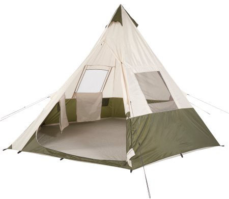 "Ozark Trail 11'8"" x 11'8"" Teepee Tent"