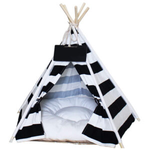 Penck Pet Teepee Dog & Cat Bed – Portable Dog Tents