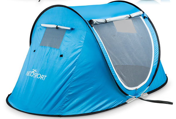 Pop-up Tent an Automatic Instant Portable Cabana Beach Tent.