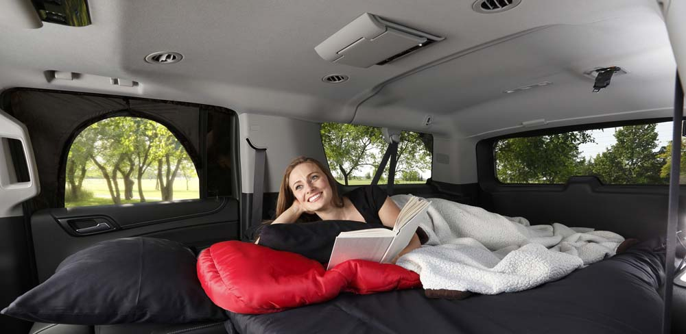 ROADIE The OVERNIGHTER SUV Window tent
