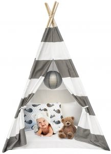 Sorbus Kids Foldable Teepee Play Tent