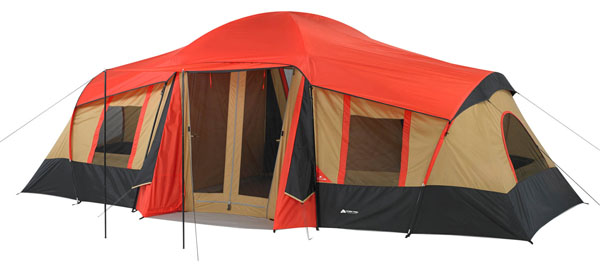 Ozark WMT922.2A Trail 10-Person 3-Room Vacation Tent