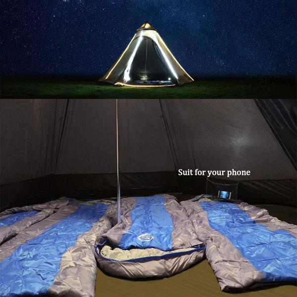 Vidalido 12'x10'x8'Dome Camping Tent 4-5