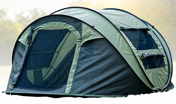 FiveJoy Instant Popup Camping Tent (1-3 Person)