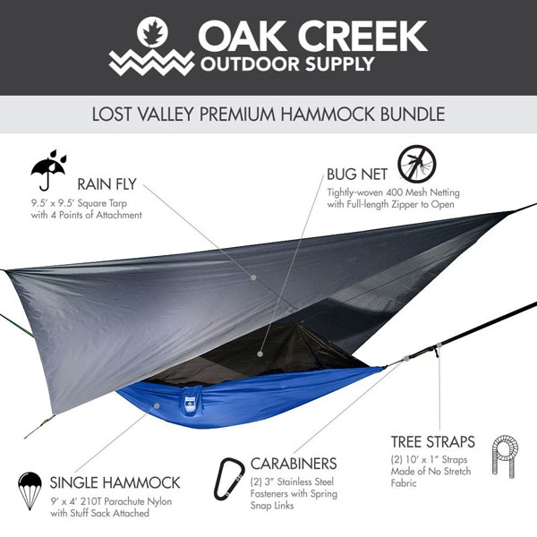 Lost Valley Camping Hammock