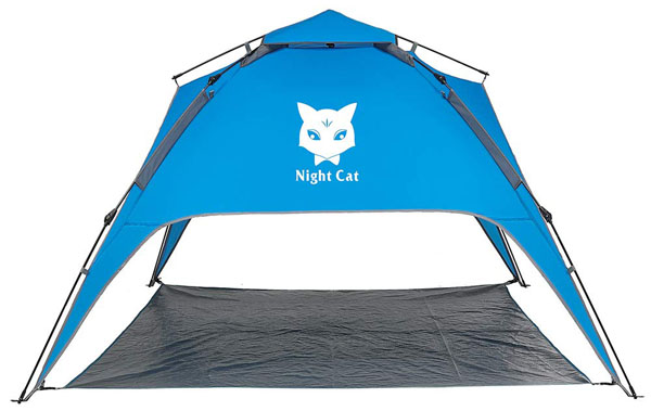 Night Cat Waterproof Camping Tent for 1 2 3