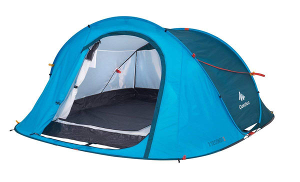 Quechua Waterproof Pop Up Camping Tent