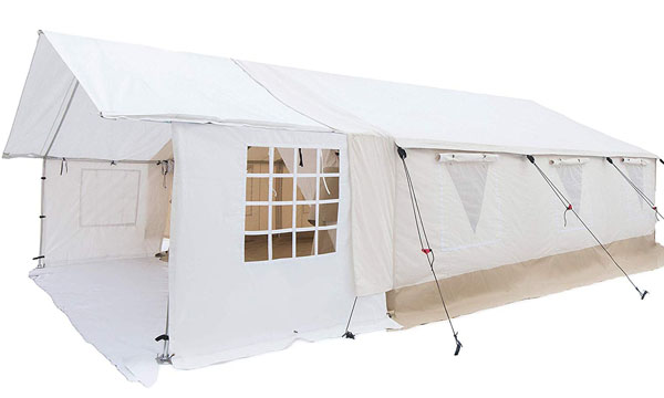 White Duck Outdoors Complete Canvas Wall Tent