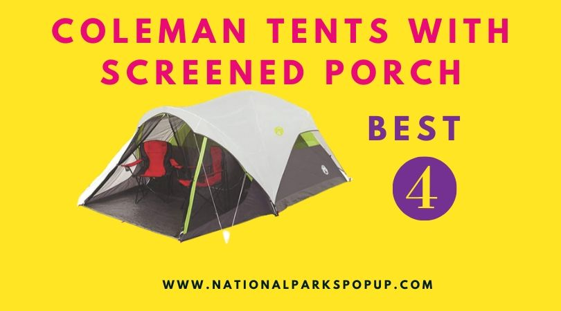 Coleman Tents with Screened Porch1